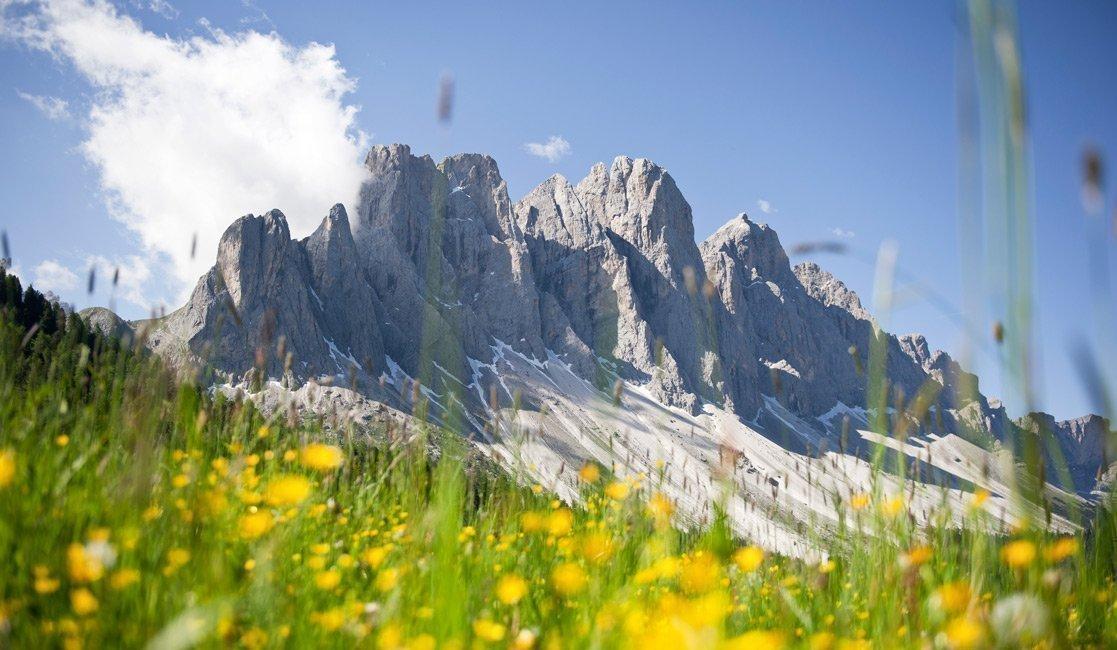 Classico tour in vetta nella Val di Funes